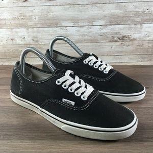 Vans Era 59 Low Top Skate Shoe Black White Size 8